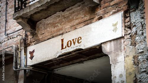 fototapeta na ścianę Sign 383 - Love