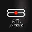 maha shivratri festival background design