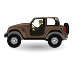 the car vector design