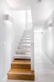 staircase in modern building - 248309165