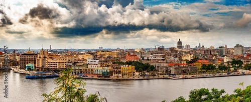 fototapeta na ścianę Panorama Havanna Kuba Altstadt