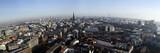 Blick vom Kirchturm der St. Michaelis Kirche über Hamburg - 248342723
