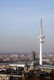 Blick vom Kirchturm der St. Michaelis Kirche über Hamburg - 248342756