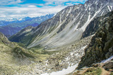 Tour de Mont Blanc, Alpy, Szwajcaria , Europa