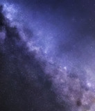 Milky Way abstract background