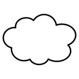 Cartoon Cloud Clip Art - 248348985
