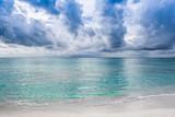 Landscape of beautiful sunset in Maldives - 248363329