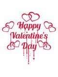 graffiti blut tropfen spray stempel herzen happy valentines day logo text liebe valentinstag feiertag schenken geschenk design verliebt paar pärchen