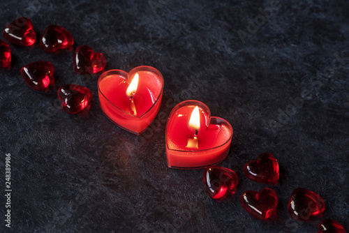 St Valentine day decor © Artanika