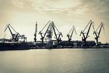 Dźwigi w stoczni Gdańsk, Polska