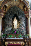 The Statue Of The Madonna