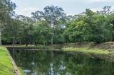 Water reservoir inside the Angkor Wat temple complex - 248434750