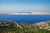 View to Rab Island in Croatia
