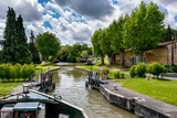 boat trip on the canal du midi near the city of Toulouse - 248444574