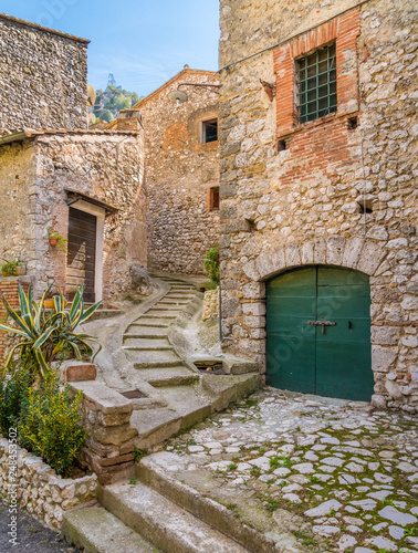 The small village of Stifone, near Terni. Umbria, Italy.