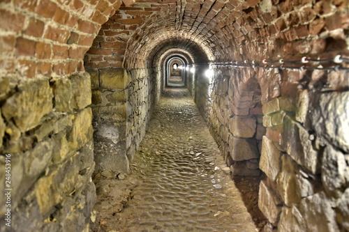 Twierdza Klodzko, podziemia, chodniki minerskie