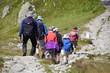 Tatrzański Park Narodowy, Lato w Tatrach, Turysci na szlaku w Tatrach
