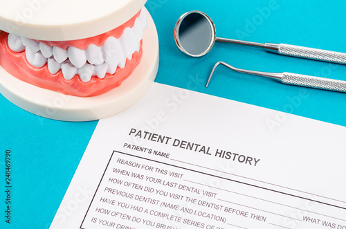 Dental health and teeth care concept. - 248469790