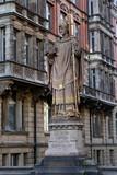 Erzbischof Ansgar Statue auf der Trostbrücke - 248475121
