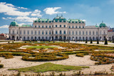 Upper Belvedere palace in a beautiful early spring day - 248510539