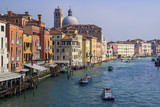 View of the main canal of venice