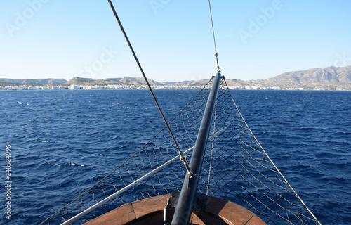 Schifffahrt bei Kos