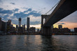 New York, Brooklyn Bridge, United States