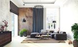 3d render home living room - 248561199