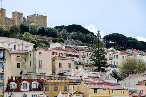 fototapeta na ścianę View of buildings, in Lisbon Capital City of Portugal