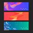 Fluid gradient background templates - 248585750