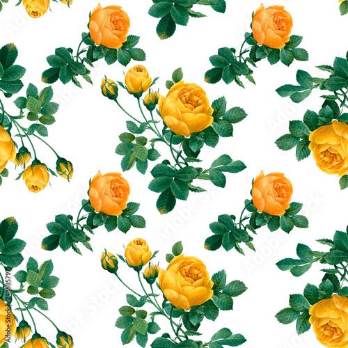 Floral patterned background - 248585797