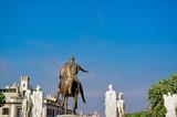 Equestrian Statue Of Marcus Aurelius - Rome Italy - 248588932