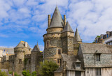 Castle of Vitre in Brittany - France - 248593569