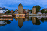 Old town in Strasbourg - Alsace France - 248593577