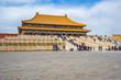 Forbidden city Beijing view of Hall of Supreme Harmony in Beijing, China