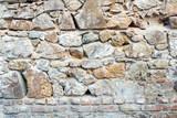 Masonry wall texture from bricks and stones