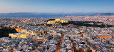 Greece - Athens skyline with acropolis at night - 248609963