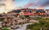 Athens with Acropolis at sunrise, Greece - 248610118