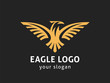 Eagle logo template. Vector format, available for editing.