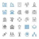 structure icons set