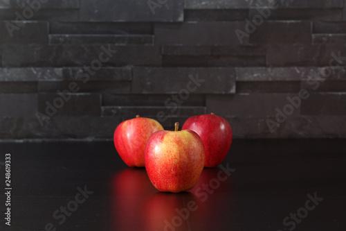 Foto Murales Pommes rouges