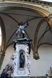 Perseus with the Head of Medusa in Loggia dei Lanzi, Signoria square, Florence, Italy - 248628503