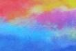 カラフル・和紙・抽象背景 - 248638333