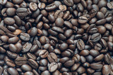 whole roasted coffee beans - 248659756