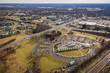Abstract Aerial of Plainsboro New Jersey - 248660713