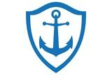 anchor concept logo icon vector