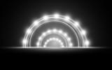 Fototapeta Do przedpokoju - white light on the stage © เอกชัย โททับไทย