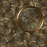 Vecchio orologio cronografo