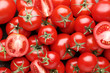 Background of ripe tomatoes