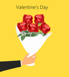 St. Valentine's day concept.